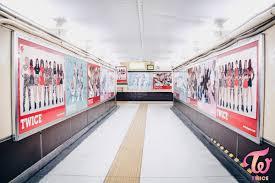 twice日本デビュー2017!!渋谷109に巨大ポスター?!!